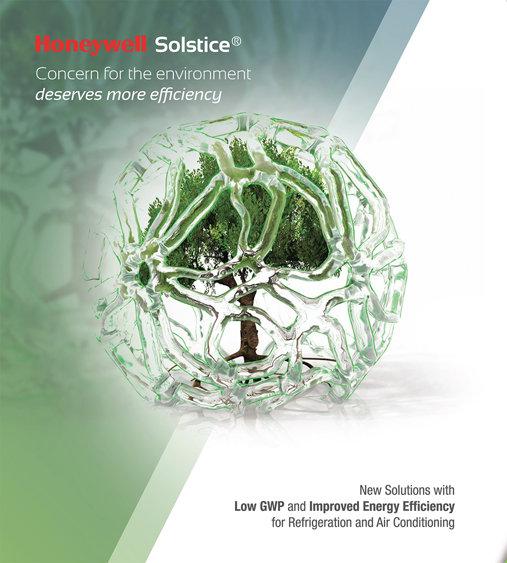 Solstice® N40 (R448A), HFO based low GWP drop-in for R404A
