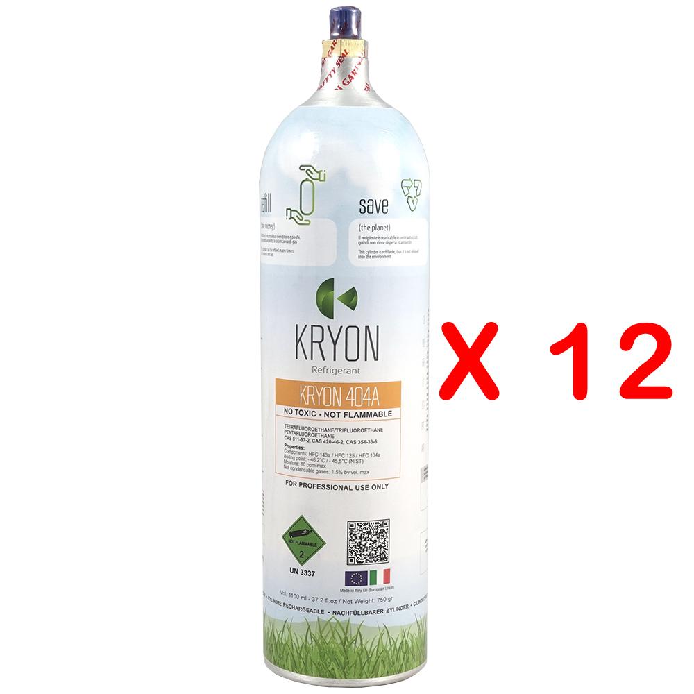 R404A Kryon® 404A - KryoBox T-PED refillable cylinder 6,4 Lt