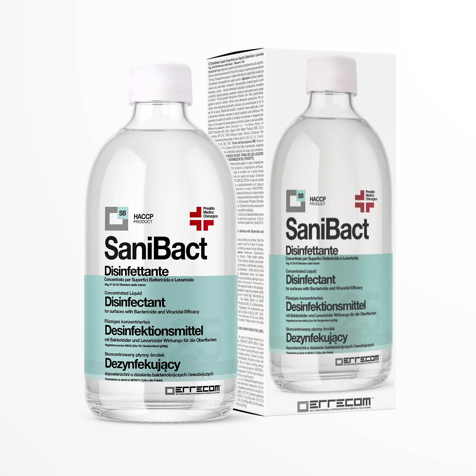 Liquid Disinfectant for Surfaces with Bactericide and Virucidal ...